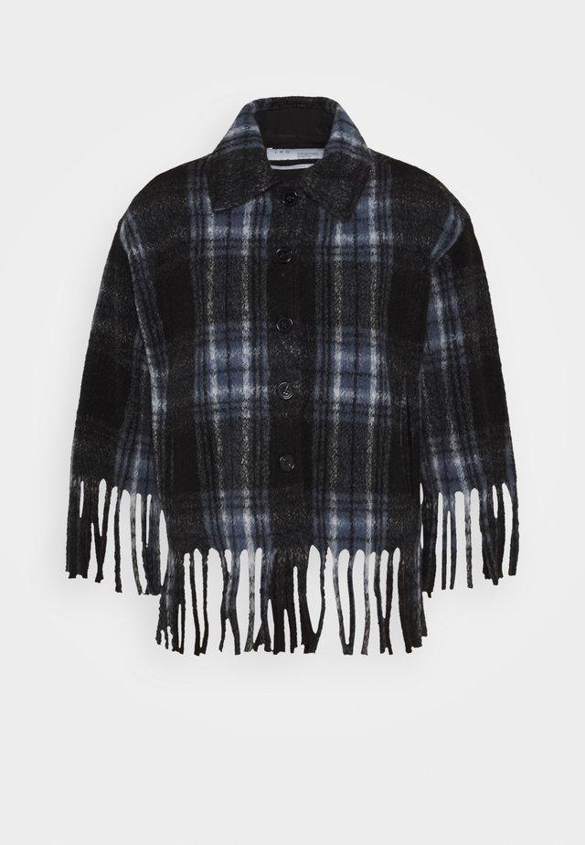 BANTHRY - Summer jacket - blue/black
