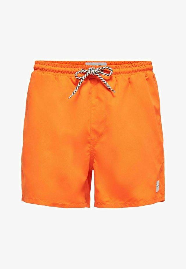 Badeshorts - vibrant orange