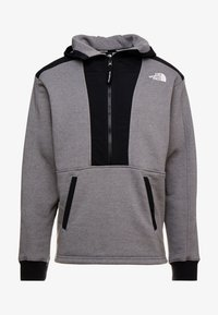 The North Face - GRAPHIC HOOD - Hoodie - medium grey heather - 5