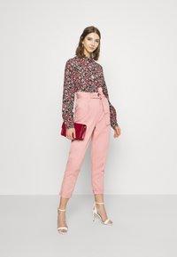 Miss Selfridge - TROUSER - Trousers - pink - 1
