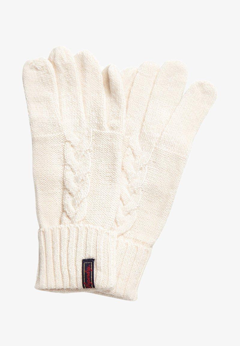 Superdry - Gloves - off-white