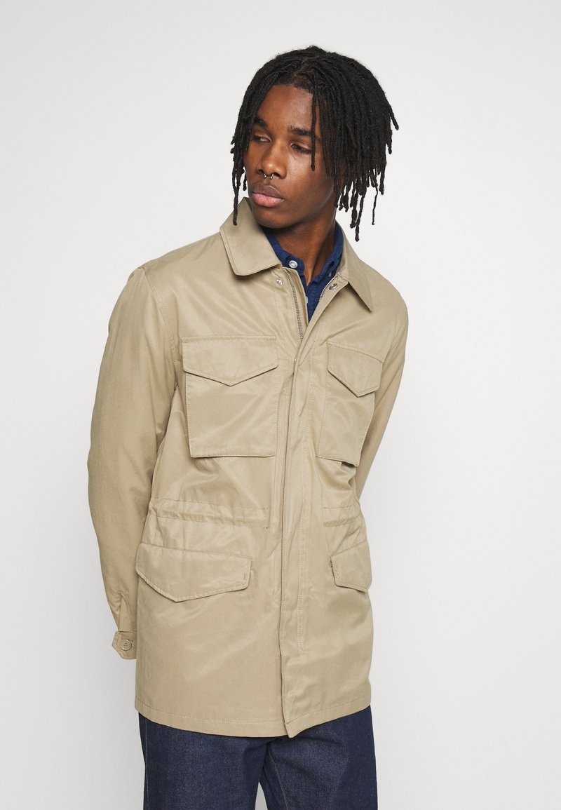 Burton Menswear London - POCKET SAFARI JACKET - Summer jacket - stone