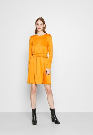VITINNY WAIST DETAIL DRESS CAMP - Vestito estivo - pumpkin spice