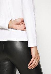Anna Field - 3 PACK - Camiseta de manga larga - black/white/mottled light grey - 6