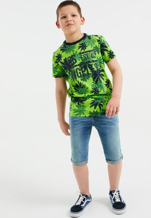 MET PALMBOOMDESSIN - Print T-shirt - bright green