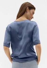 MADELEINE - Long sleeved top - rauchblau - 2