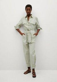 Mango - Jumpsuit - pastellgrün - 0