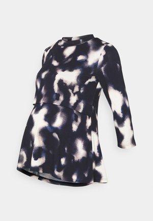 MLSKY JUNE 3/4  - Long sleeved top - navy blazer/cloud