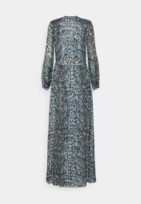 Temperley London - OCELOT PRINTED DRESS - Košilové šaty - powder blue - 7