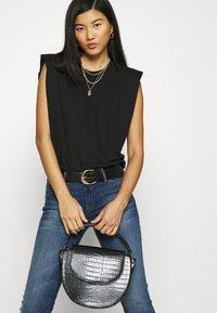 Mavi - LINDY - Jeans slim fit - dark brushed glam - 3