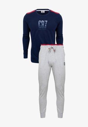 SET - Pyjamahousut/-shortsit - navy