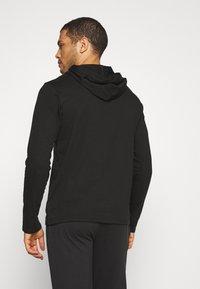 Polo Ralph Lauren - HOODIE - Pyjama top - black - 2