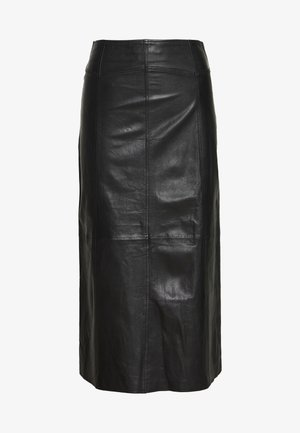 SIMONE - A-line skirt - black