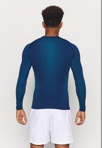 ODLO - PERFORMANCE WARM ECO CREW NECK - Unterhemd/-shirt - estate blue/atomic blue - 2