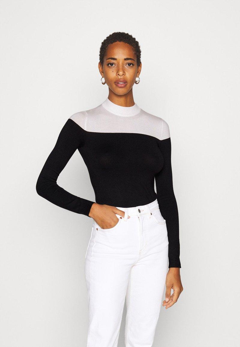 Zign Tall - Trui - black/white