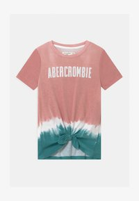 Abercrombie & Fitch - TECH CORE PATTE - Print T-shirt - pink - 0
