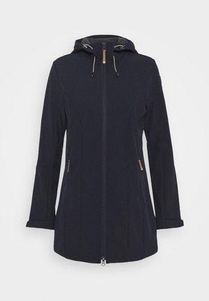 VIAMAO - Kurtka Softshell - dark blue/black melange