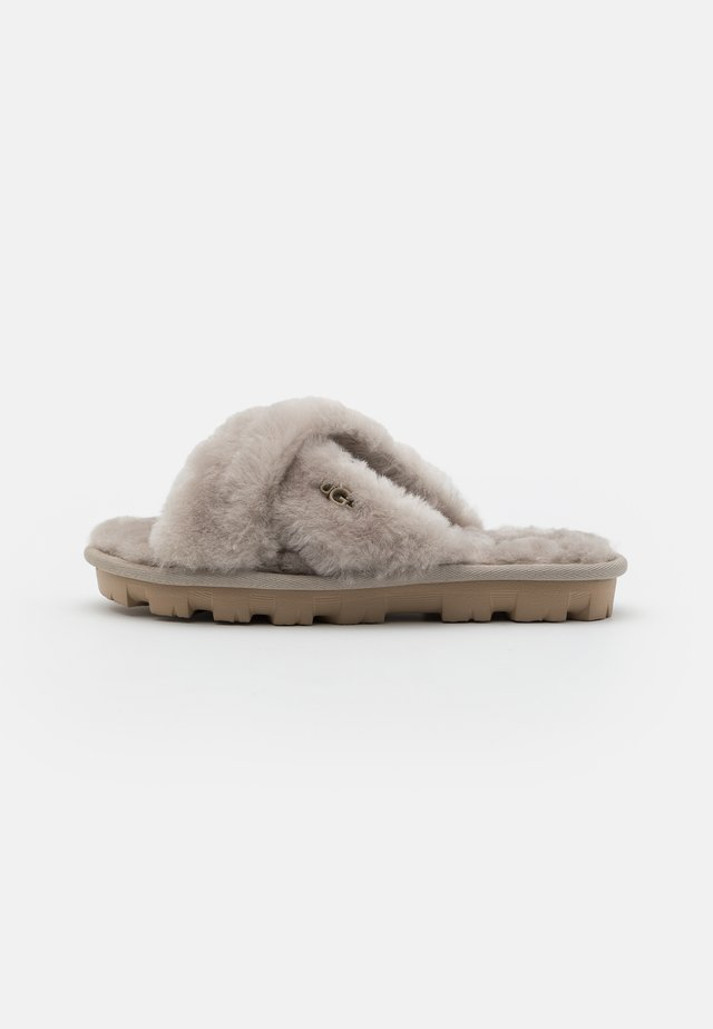 FUZZETTE - Pantuflas - light grey