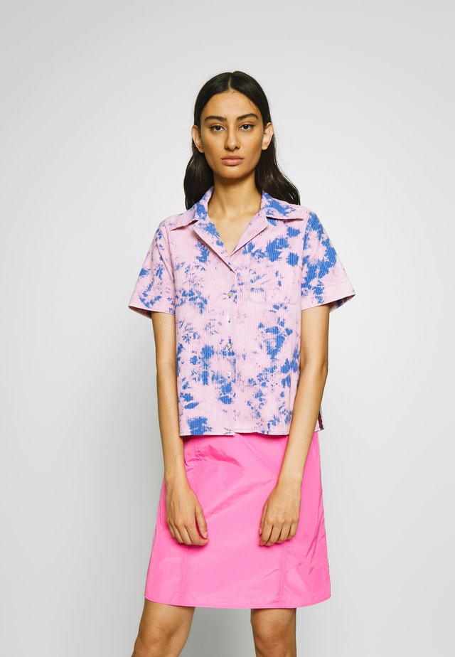 ACID HOUSE - Button-down blouse - flamingo blue