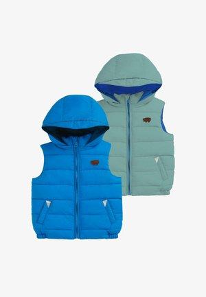 ECOREVERSIBLE - Waistcoat - blue