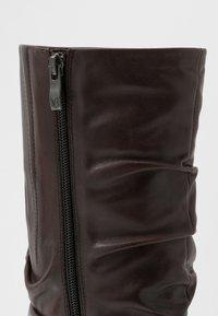 Caprice - Vysoká obuv - dark brown - 2