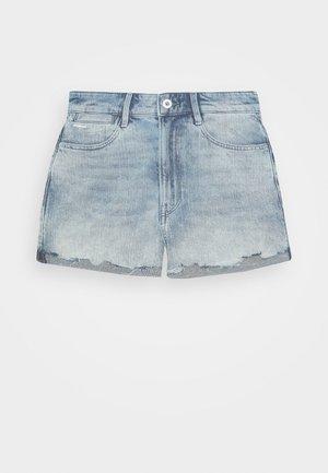 TEDIE ULTRA HIGH WMN - Denim shorts - light blue denim