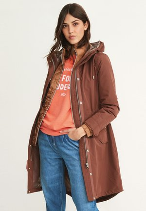 2-IN-1  - Parka - brown
