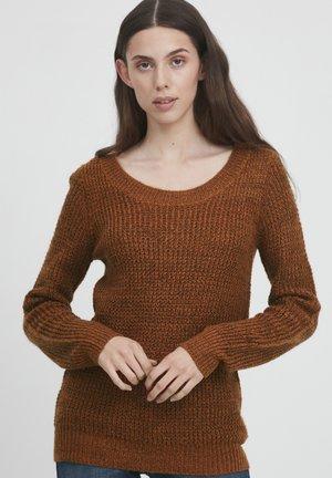 Jumper - bombay brown