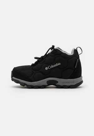 CHILDRENS FIRECAMPMID 2 WP UNISEX - Scarponi da trekking - black/monument