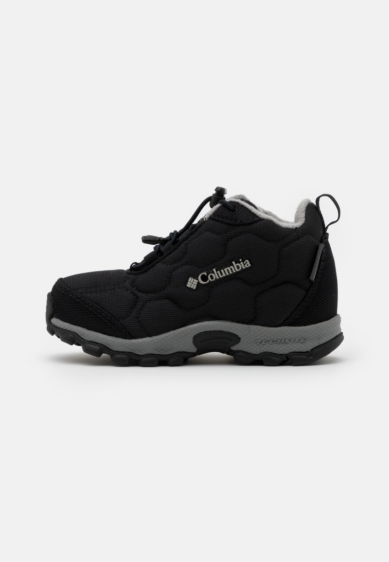 Columbia - CHILDRENS FIRECAMPMID 2 WP UNISEX - Walking boots - black/monument