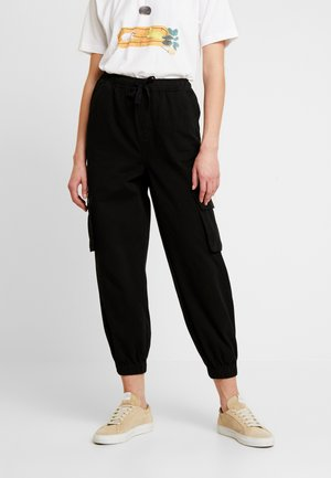 BAGGY RAFF TROUSER - Pantalones - black