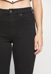 Topshop Petite - JAMIE CLEAN - Jeansy Skinny Fit - black - 5