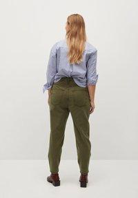 Violeta by Mango - RITA - Trousers - khaki - 2
