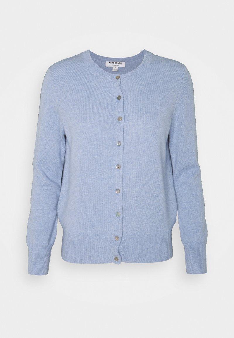 Marks & Spencer London - CREW - Kardigan - light blue