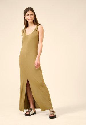 Maxi dress - beigegrün