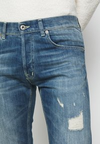 Dondup - PANTALONE QUENTIN - Straight leg jeans - destroyed denim - 4
