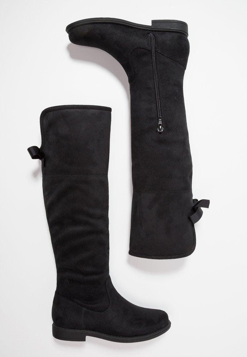 Friboo - Klassiska stövlar - black