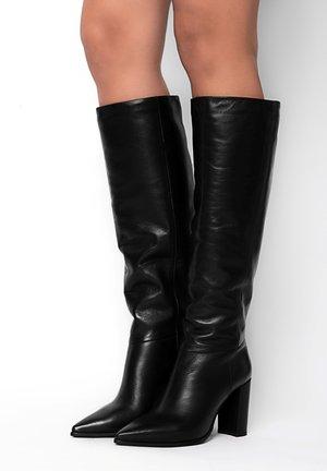 TREMEA TREMEA - High heeled boots - czarny