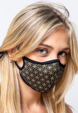 Maschera in tessuto - gold
