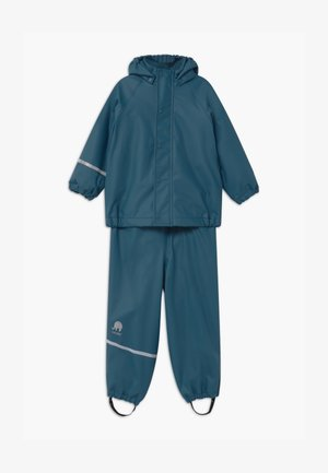 RAINWEAR SET UNISEX - Rain trousers - ice blue