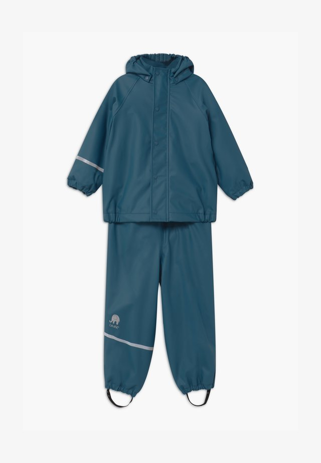 RAINWEAR SET UNISEX - Pantaloni impermeabili - ice blue