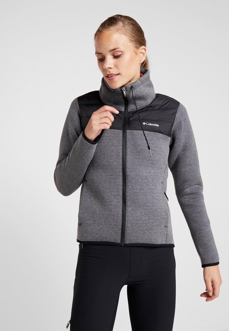 Columbia - HYBRID  - Fleece jacket - black