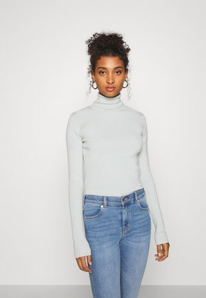 KIRSTEN TURTLENECK - Jumper - light blueish/green