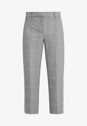 Trousers - black / blue / ivory