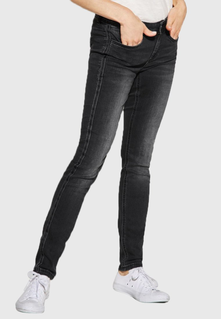 Street One - Slim fit jeans - black