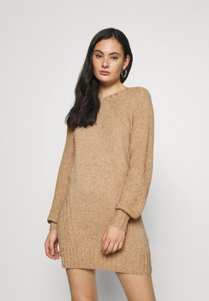 ONLSANDY DRESS - Robe pull - pumice stone/melange