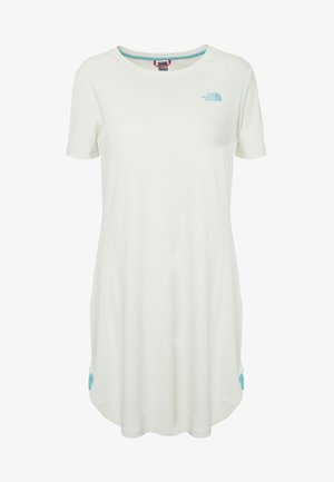 WOMENS SIMPLE DOME TEE DRESS - Jerseyklänning - vintage white