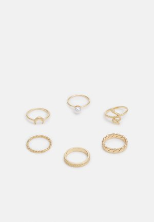 ANELIA 6 PACK - Ring - gold-coloured
