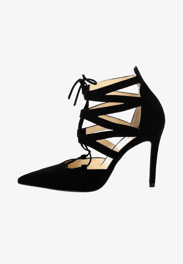 NOCERA - Sandales à talons hauts - black