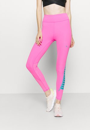 TRAIN FIRST MILE XTREME 7/8 TIGHT - Tights - luminous pink
